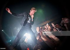 Ricky Wilson of The Kaiser Chiefs performs on stage at BIC on February 10 2015 in Bournemouth...
