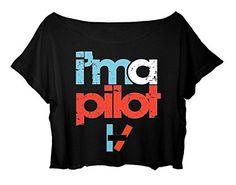 Women's Crop Top Twenty One Pilots Shirt Twenty One Pilots I'm A Pilot T-shirt (black) http://www.amazon.com/dp/B014SUS8S8/ref=cm_sw_r_pi_dp_fx.8vb1RV10HD