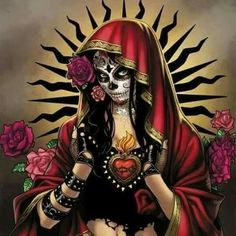 sugar skull day of the dead Day Of The Dead Artwork, Day Of The Dead Skull, Skull Girl Tattoo, Sugar Skull Tattoos, Caveira Mexicana Tattoo, Los Muertos Tattoo, Lady Mechanika, Grim Reaper Art, Catrina Tattoo