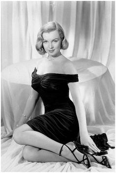 "Marilyn Monroe in ""The Asphalt Jungle"" (1950). Director: John Huston."
