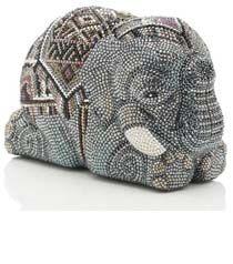 Tembo Crystal Elephant Minaudiere