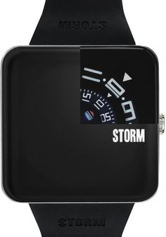 Storm Squarex Black Watch - Cool Watches from Watchismo.com  $149