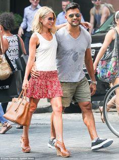 simply Kelly Ripa  | long hot summer kelly ripa and mark consuelos looked like a pair of ...