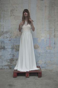Robes de mariée - Elise Hameau - Collection 2017 | Modèle: Grace | Photographe: Romina Shama | Donne-moi ta main - Blog mariage