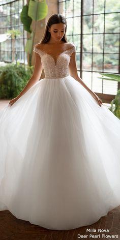 Milla Nova 2020 Wedding Dresses MELDI #weddings #weddingideas #weddingdresses #dpf Dream