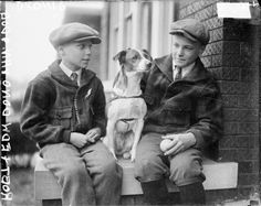 <b>All kinds of people, all kinds of dogs.</b> Take a trip back 100 years.