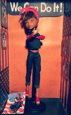 Ooak-Doll-Rosie-The-Riveter