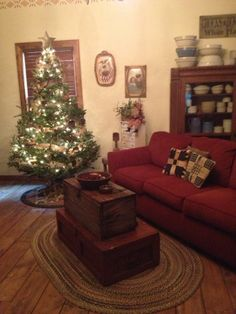 Our living room awaiting Christmas 2013. The Duncan's.