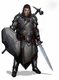 m Paladin Plate Shield Sword War Hammer midlvl