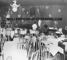 The Mocambo Room, Hollywood, 1940s