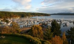 Friday Harbor View - San Juan Island, Washington