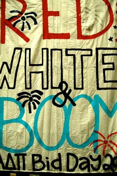 Red, white, and BOOM.<>