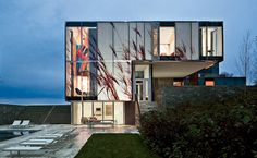 Dutchess County Residence, Main House by Allied Works Architecture