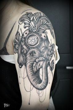 tatuaggeria#tattoo #tattoos #tat #ink #inked #elephanttattoo #TFLers #tattooed #tattoist #elephant #art #design #instaart #instagood #sleevetattoo #handtattoo #chesttattoo #photooftheday #tatted #instatattoo #bodyart #tatts #tats #amazingink #tattedup #inkedup
