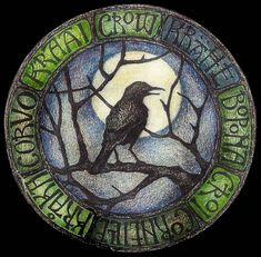 The Celtic Shaman has long associated the crow with magic and as a teller of truth. The American Indians believe the crow to be the Trickster and the Law Giver. The crow's medicine is boldness and intuitive knowledge of universal laws. Crow Art, Raven Art, Bird Art, Raven Totem, Illustrations, Illustration Art, 4 And 20 Blackbirds, Quoth The Raven, Jackdaw