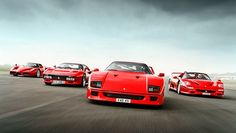 Is this the ultimate Ferrari group test? - BBC Top Gear