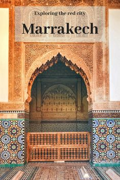 The ultimate four day itinerary for Marrakech, Morocco. This Marrakech city guide has all the best things to do in Marrakech plus travel tips. Marrakech Travel, Morocco Travel, Africa Travel, Marrakech Morocco, Solo Travel, Travel Tips, Travel Articles, Travel Advice, Travel Guides