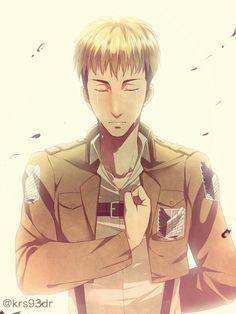 Attack on Titan ~~ A final salute. :: Jean