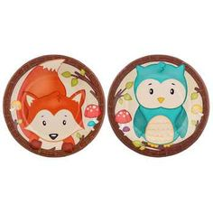 Small Woodland Party Plates