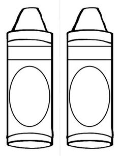 back to school activity and display for the crayon box tha - Crayon Coloring Pages