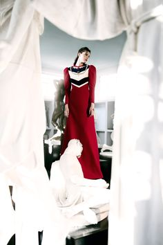 HEARTLESS Magazine: Mia Le Journal Model: Klarissza Fodor Monster mgmt Hair: Serena Congiu make up: Vanessa Icareg Production: CAOS High Neck Dress, Culture, Kiosk, Model, How To Make, Hair, Presents, Photography, Italy