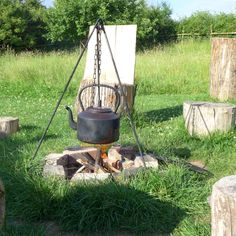 Cook on the campfire!