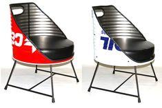 Silla Bidon Oil Drum Chair