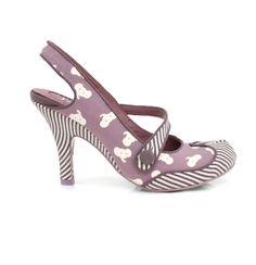 Irregular Choice Elephunk Court Shoe Split-toe
