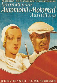 Die Aushängeschilder der IAA: Alle Plakate von 1899 bis 2013