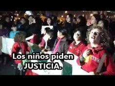 También los niños piden ¡JUSTICIA! Ayer, en la #AcciónGlobalAyotzinapa.