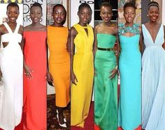 Lupita the fashion beast girlfriend is killing the fashion game.