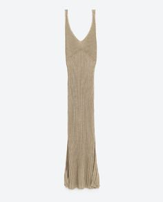 Image 6 of LIMITED EDITION GOLD-TONED DRESS from Zara
