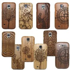 Classic Retro Mayan Pattern Bamboo Wood Carving Phone Case For Samsung Galaxy S6 Edge S7 Plus/S4 MINI S5 MINI/NOTE 4/S4 S5 Neo