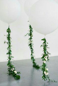 Ballonnen met sierstukken