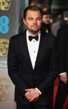 Pin for Later: Let's Hear It For the Boys at the BAFTA Awards Leonardo DiCaprio
