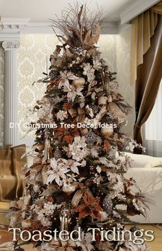 11 Amazing And Ingenious Christmas Tree Toppers Diy Christmasideas 2017 Trends