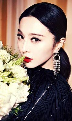 pinterest.com/fra411 #asian #beauty Fan Bingbing ♥