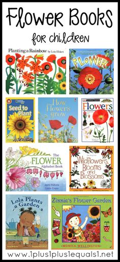 Flower Books for Kids