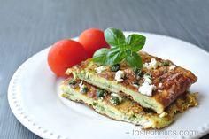 Feta Pesto Omelette