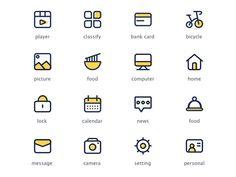 health icon Icon design by Fan Liyong Ppt Design, Design Websites, App Icon Design, Web Design Trends, Web Design Inspiration, Flat Design Icons, Design Room, Design Studio, L Icon