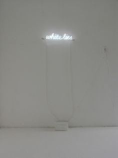 White Lights -- Installation