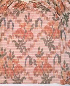 1760-70 Barred Stripe Chine Silk / Met C.I.60.40.2a, b