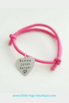 Our beautiful bracelets can be personalised with any name, wording and/or date. #babygifts #keepsake #christeninggifts #keepsakes