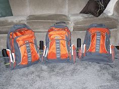 12 weeks to add to your 72 hour Emergency Preparedness- Week 1  1. Obtain a suitable 72-hour kit container (backpack, duffel bag, garbage can with lid). Make sure you have one kit for every member of your family, even children. (If you have a baby/child in diapers, buy an extra pack this week)