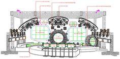 Stage & Lighting Design, Talent Show Stage Design