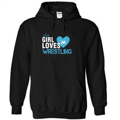 This girl love wrestling T Shirts, Hoodies, Sweatshirts - #cool sweatshirts #t shirt creator. PURCHASE NOW => https://www.sunfrog.com/Sports/This-girl-love-wrestling-Black-Hoodie.html?60505