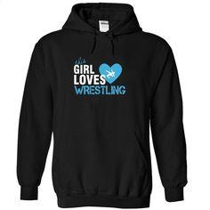 This girl love wrestling T Shirts, Hoodies, Sweatshirts - #shirt #band t shirts. I WANT THIS => https://www.sunfrog.com/Sports/This-girl-love-wrestling-Black-Hoodie.html?id=60505