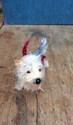 Lovely little Yorkshire terrier commission. Sarah Strachan  Sarahstrachan.com Yorkshire Terrier, Uk Shop, Puppets, Imagination, Miniatures, Teddy Bear, Toys, Crafts, Animals