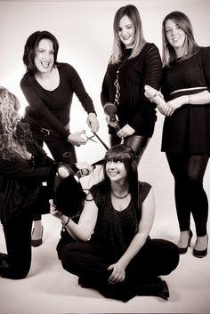 #FlotteSchere #Erkelenz by Irina - cooler Laden, nette Mädels, tolle Frisuren - das #Image #Shooting hat mir riesig Spaß gemacht ©#SteBoGrafie #Friseur #Portrait
