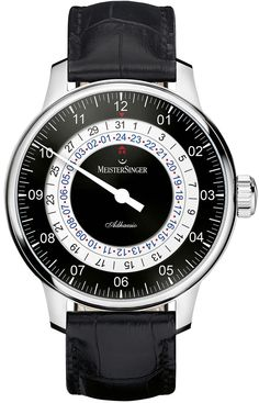 MeisterSinger Watch Adhaesio Pre-Order #basel-15 #bezel-fixed #case-material-steel #case-width-40mm #clasp-type-tang-buckle #date-yes #delivery-timescale-call-us #dial-colour-black #gender-mens #luxury #movement-automatic #new-product-yes #official-stockist-for-meistersinger-watches #packaging-meistersinger-watch-packaging #pre-order #pre-order-date-30-09-2015 #preorder-september #subcat-adhaesio #supplier-model-no-ad902-croco-print-black #warranty-meistersinger-official-2-year-guarantee